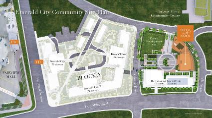Fifth on the Park Site Plan